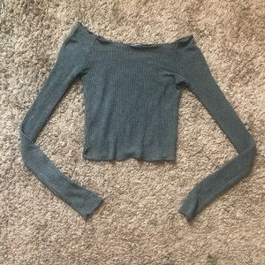 Brandy Melville Ribbed Knit Top